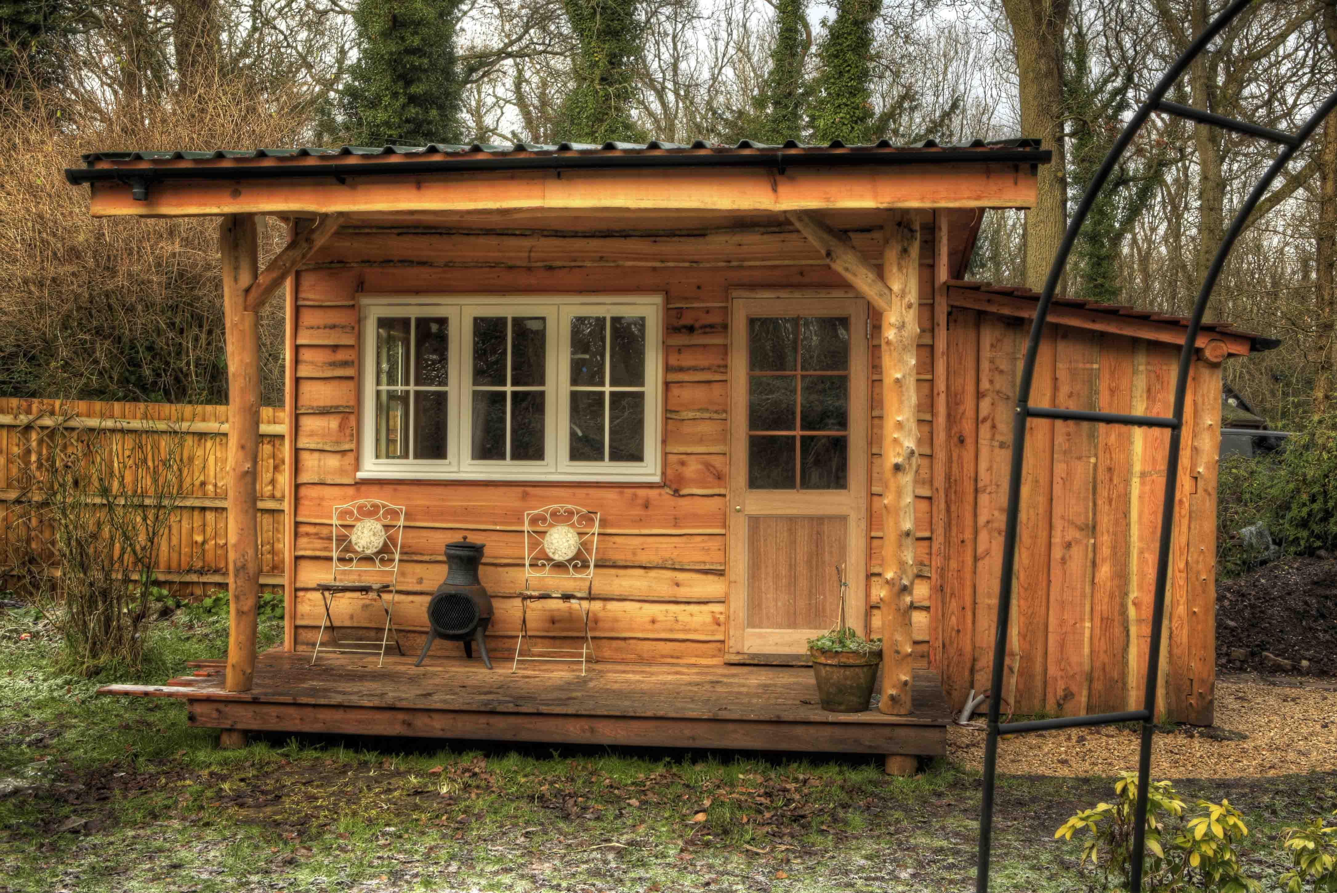 Garden Cabin | Roundwood Design